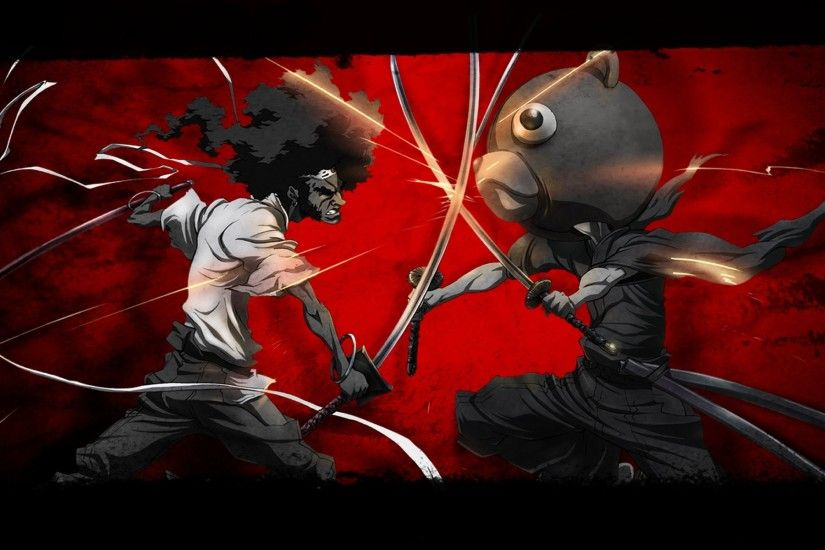 Afro Samurai Wallpapers, Free Kuma vs Afro Samurai HD Wallpapers, Kuma .