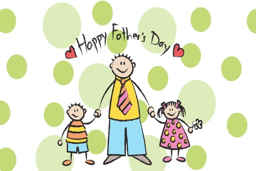 ... Happy Fathers Day Cartoon Wallpaper