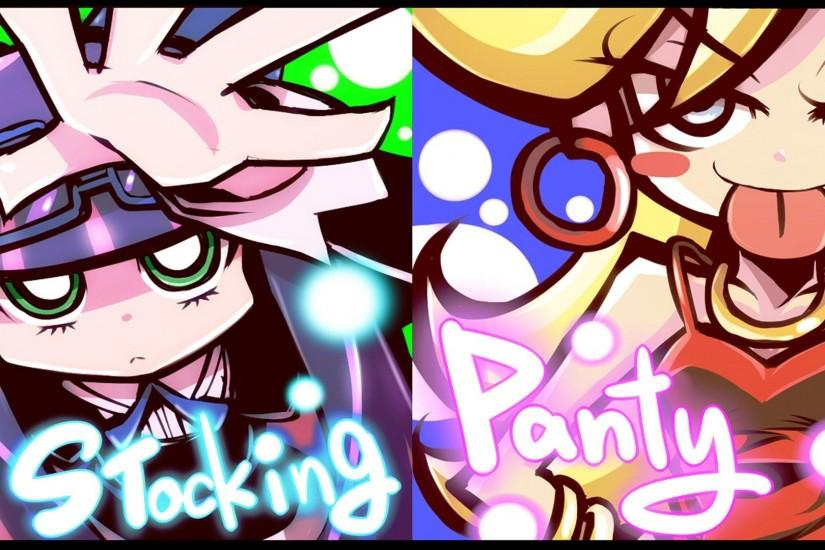 Panty and Stocking Full HD Wallpaper 1920x1080