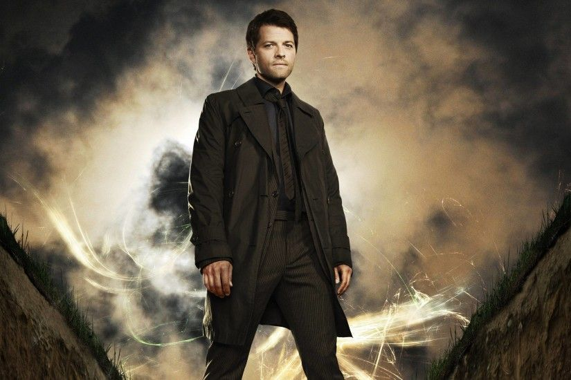 Supernatural Castiel Wallpaper - Wide Wallpapers