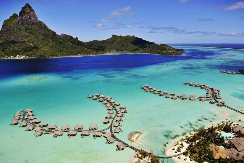 Bora Bora Island Latest Wallpaper