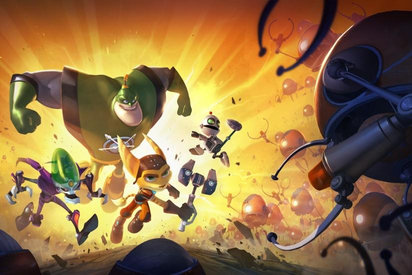 Ratchet and Clank wallpaper 1920x1080 (3) - hebus.org - High .