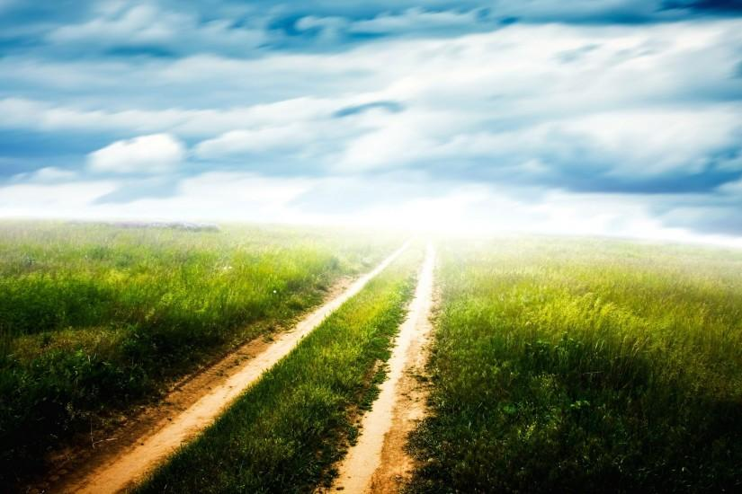 download road background 2560x1600 4k