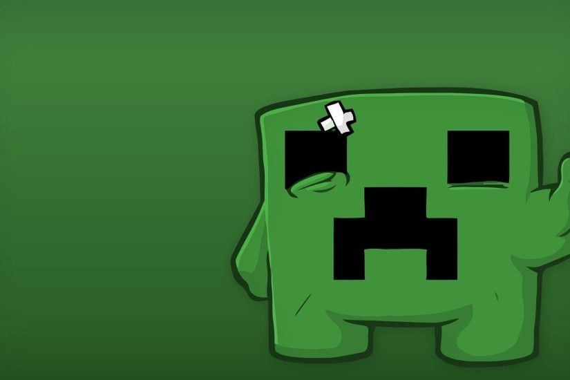 Minecraft wallpaper called Creeper wallpaper