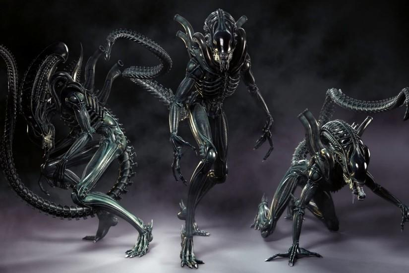 Video Game - Aliens: Colonial Marines Alien Dark CGI Wallpaper