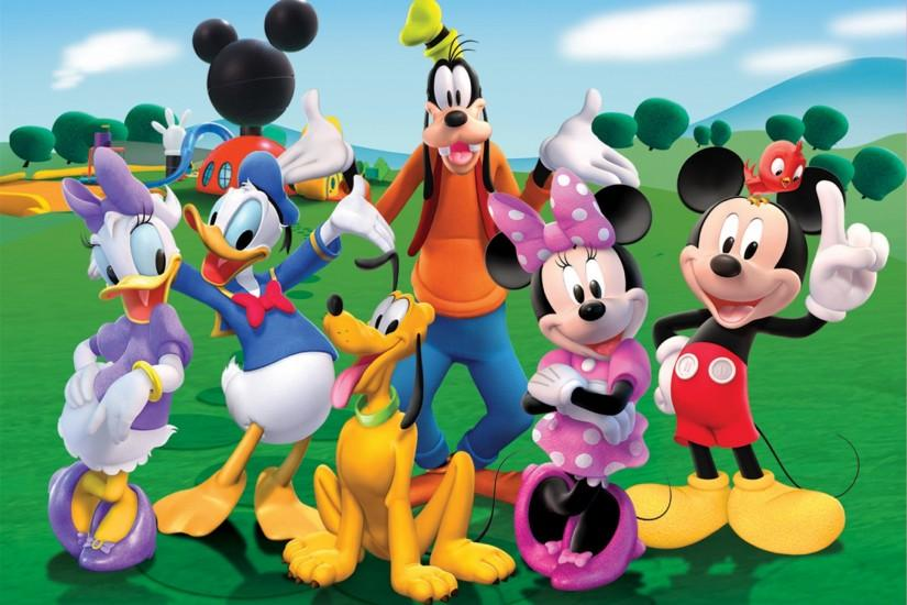 Mickey Mouse And Minnie Mouse Fun Wallpaper HD Wallpaper .