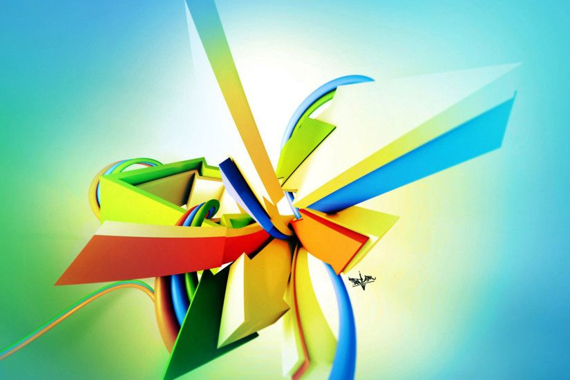 hd pics photos 3d abstract colors hd quality desktop background wallpaper