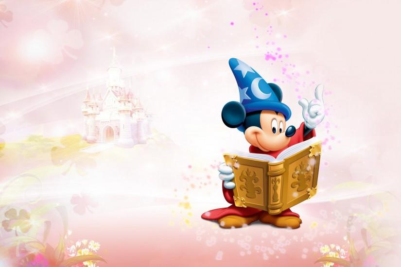 Mickey Mouse Widescreen Background Wallpaper - HD Wallpapers