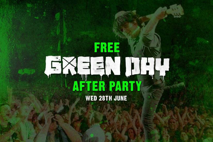 FREE GREEN DAY AFTER PARTY, ORMEAU PARK, QUBSU, BELFAST, MANDELA HALL