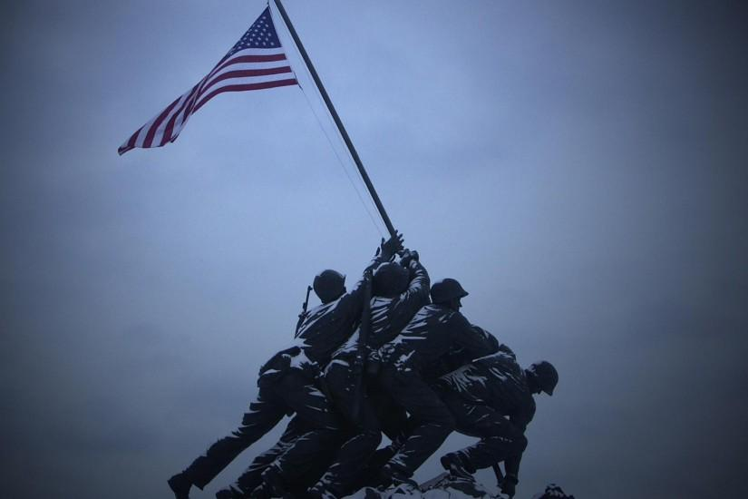Wallpaper Marine Corps War Memorial (1920 x 1080 HDTV 1080p). Desktop .