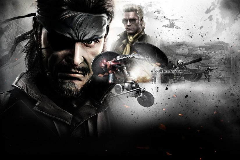 Metal Gear Wallpaper 1920x1080 Metal, Gear, Solid, Big, Boss, Peace .