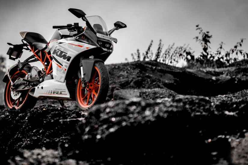 KTM RC390 Sport Moto HD Wallpaper