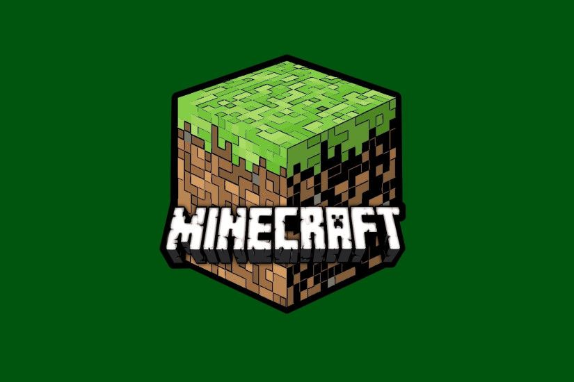 Preview wallpaper minecraft, cube, ground, name, font 3840x2160