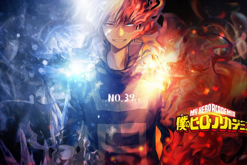 Anime - My Hero Academia Shouto Todoroki Wallpaper