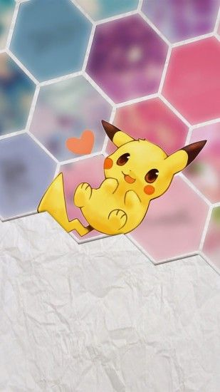 Tap image for more iPhone 6 Plus Pikachu wallpapers! Pikachu - @mobile9 |  Cute