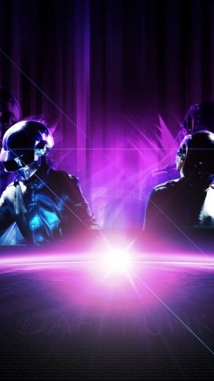 Preview wallpaper daft punk, planet, sun, light, rays 1440x2560