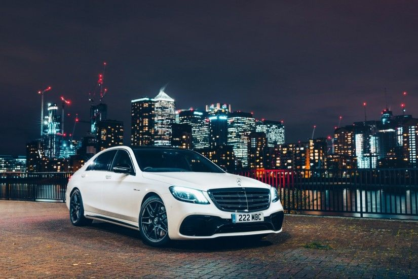 Automotive / Mercedes-AMG S 63 4MATIC+ Wallpaper