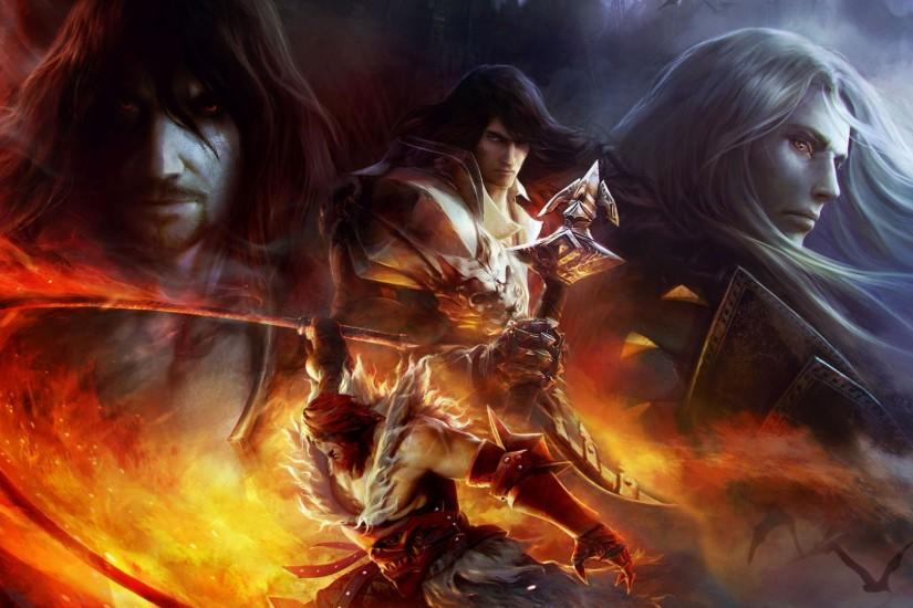 Preview wallpaper castlevania, lords of shadow, mirror of fate, gabriel  belmont, dracula