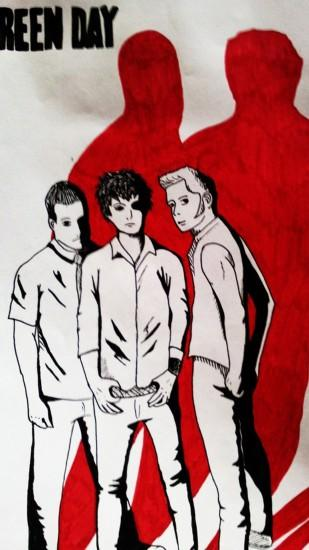 Green day band Galaxy S4 Wallpapers