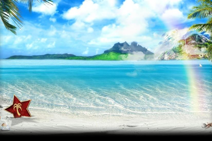 gorgerous beach background 1920x1080 for pc