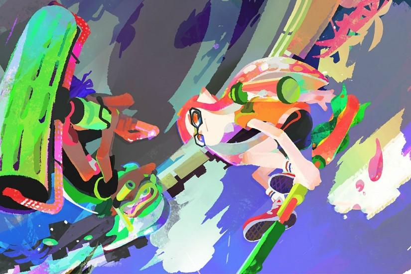 top splatoon wallpaper 1920x1080 screen