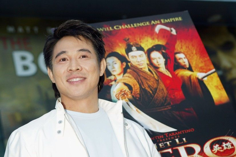 Wallpaper Jet li, Brunette, Celebrity, Man, Actor, Smile HD, Picture, Image