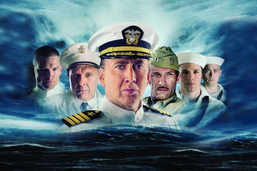 Movie - USS Indianapolis: Men of Courage Nicolas Cage Wallpaper