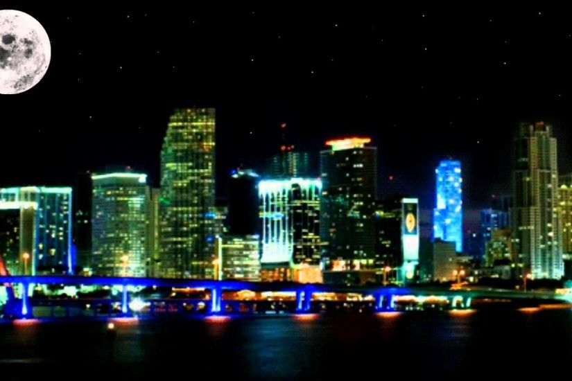 City Night - - Free background video 1080p HD stock video footage - YouTube