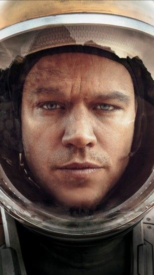 Matt Damon The Martian Helmet Android Wallpaper ...