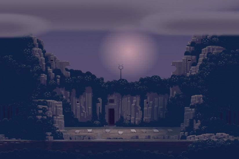 best pixel art background 2560x1440 for mobile
