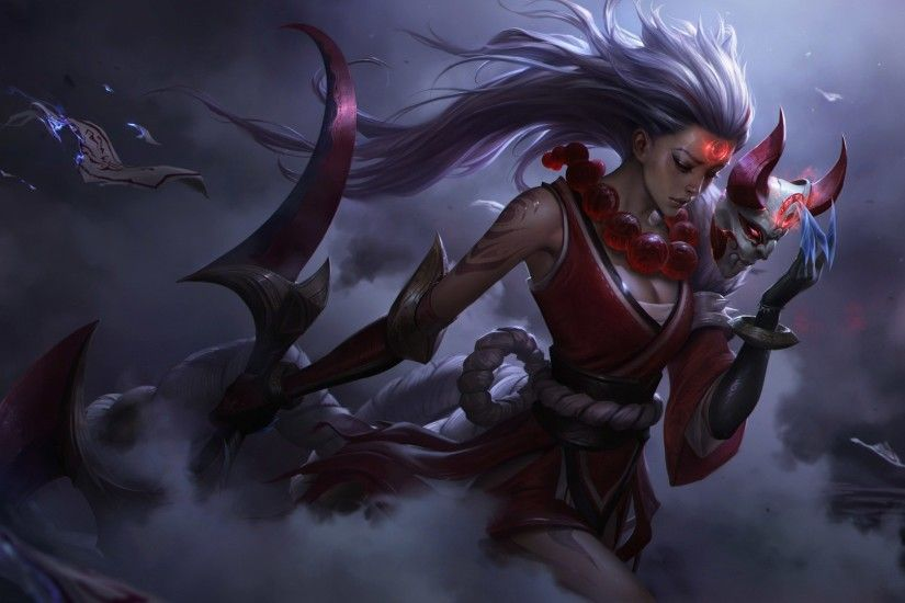 Blood Moon Diana wallpaper