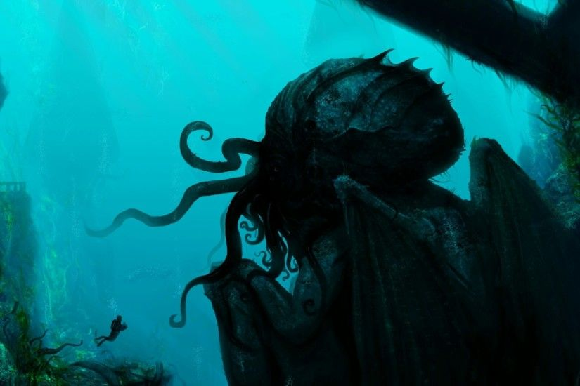 Cthulhu, Dagon, H. P. Lovecraft Wallpapers HD / Desktop and Mobile ... |  Cthulhu Cult | Pinterest | Cthulhu, Hd desktop and Desktop backgrounds