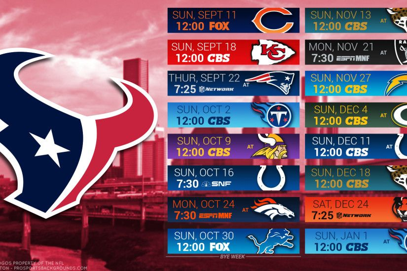 nfl 2016 houston texans desktop schedule background ...