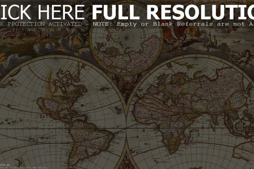 Old Map Backgrounds New World Wallpaper