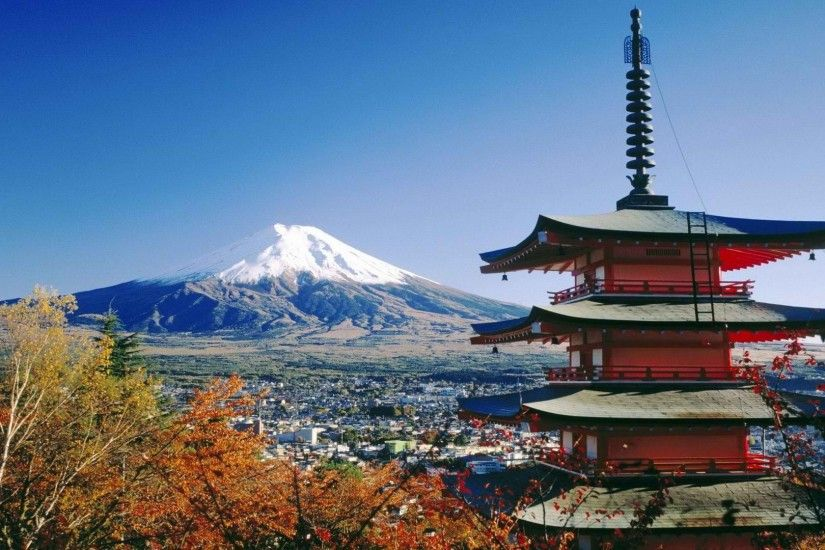 Japan house mount Fuji new wallpapers