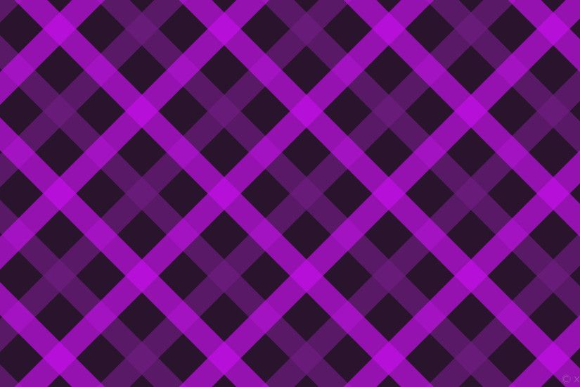 wallpaper tattersall magenta stripes gingham dark magenta #29132d #6f1c80  #c310e8 45° 65px