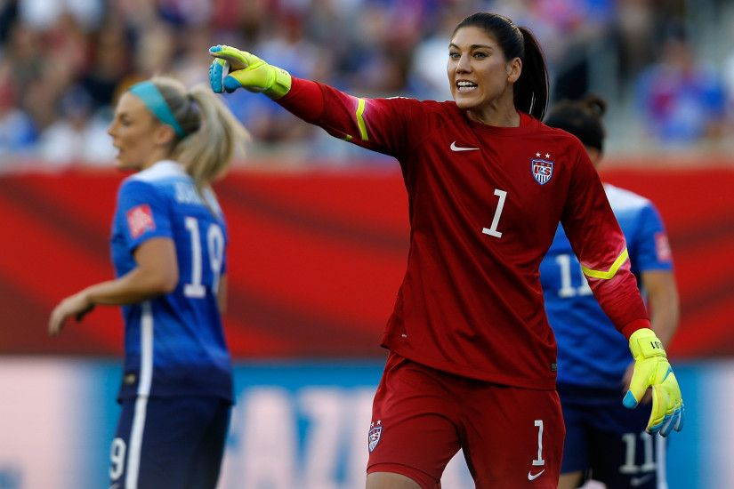 51 best Hope Solo images on Pinterest | Hope solo, Goalkeeper and .