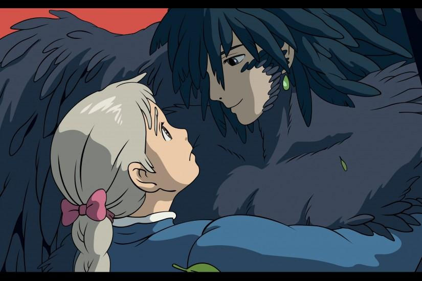 howls moving castle wallpaper 3001x1682 screen