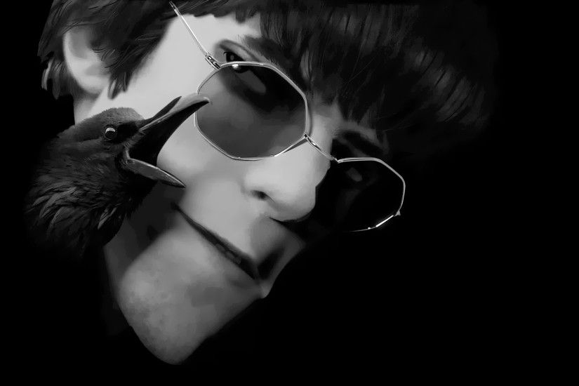 Black and white murdoc wallpaper from the song : Gorillaz - We Got The  Power (Claptone Remix) Youtube link  :https://www.youtube.com/watch?v=sQduMTc5TR8