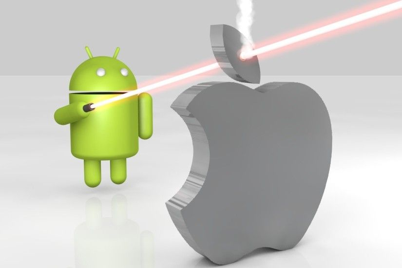 Android VS Apple 3D