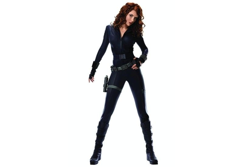 ... Black Widow - Iron Man HD Wallpaper 2560x1440