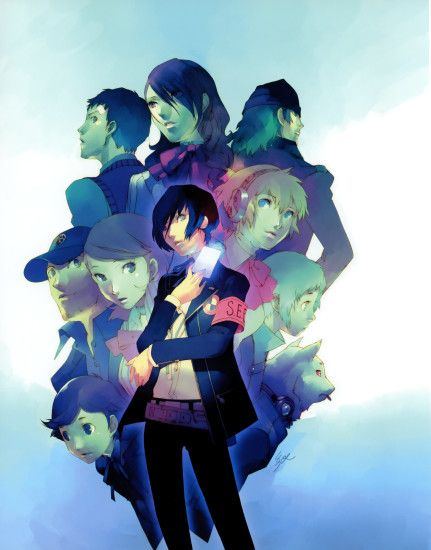 ... Persona 3 portable fanbook Characters