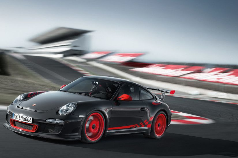 2010 Grey Black/Guards Red Porsche 911 GT3 RS