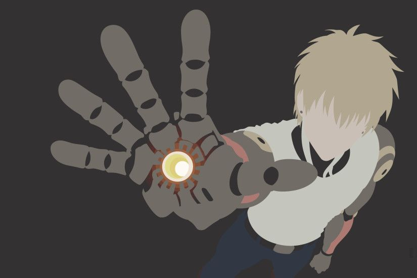 One Punch Man Genos Wallpaper High Quality 6394 - HD Wallpapers Site