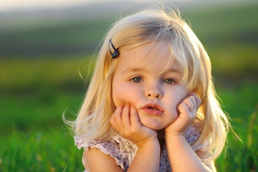 Beautiful Baby Child Girls Desktop Photos.