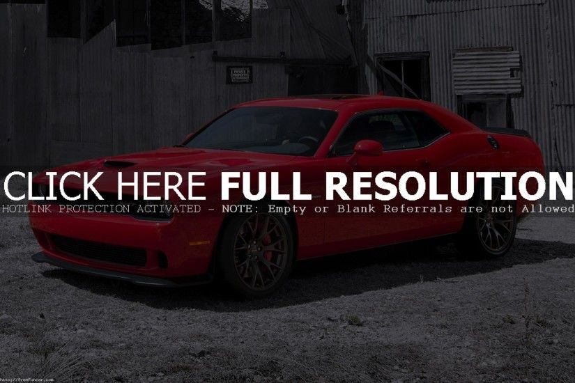 NEW DODGE CHALLENGER SRT HELLCAT WALLPAPERS