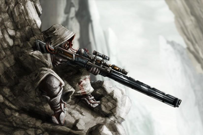 gorgerous sniper wallpaper 1920x1200 mobile