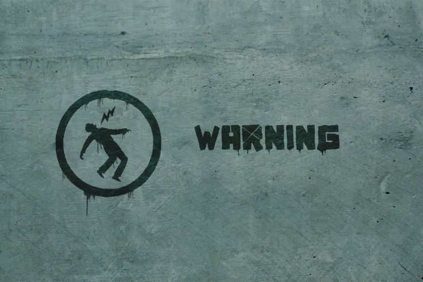 Warning wallpaper by heenriko Warning wallpaper by heenriko