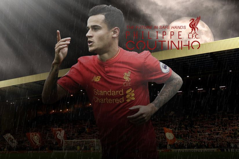 ... Philippe Coutinho // Wallpaper by ArselGFX