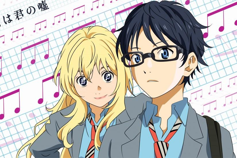 Shigatsu Wa Kimi No Uso Desktop Folder Icon - AnimeIconz